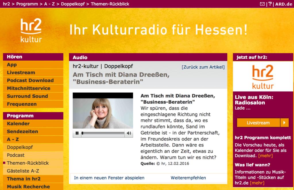Podcast mit Diana Dreessen